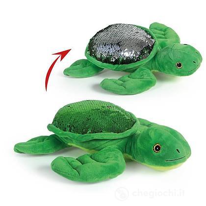 Tartaruga Guscio con paillettes reversibili (25122)