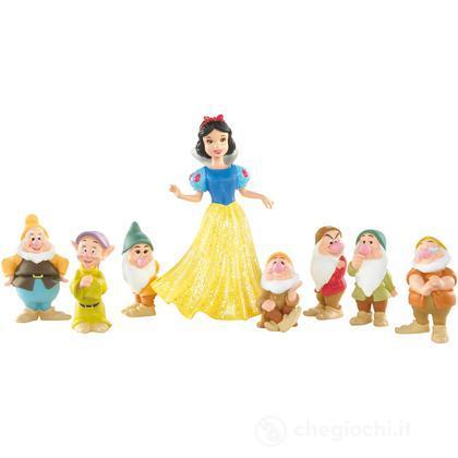Biancaneve e i sette nani small dolls (R9644)