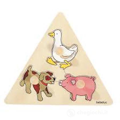 Puzzle Pomelli Animali (10123)