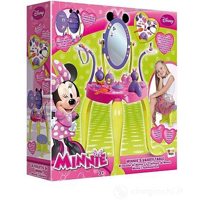 Minnie set specchiera con sgabello e accessori
