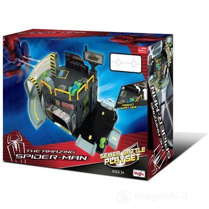 Spider Pista The Amazing man Playset12124Motorama 35ARLj4q