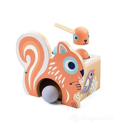 BabyNut batti batti scoiattolo in legno (DJ06124)