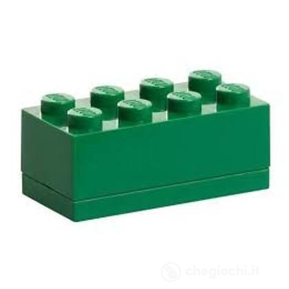 Contenitore LEGO Mini Box 8 Verde
