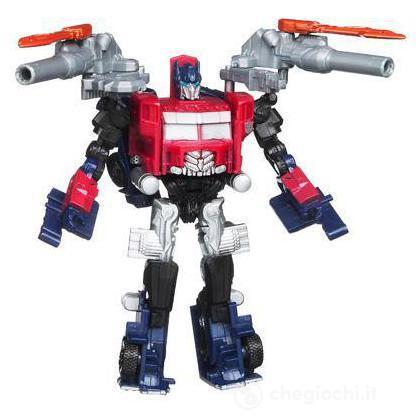 Transformers 3 Cyberverse Commander - Optimus Prime Battle steel liv.1 (29685)