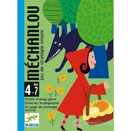 Méchanlou Cappuccetto Rosso Gioco di carte (DJ05126)