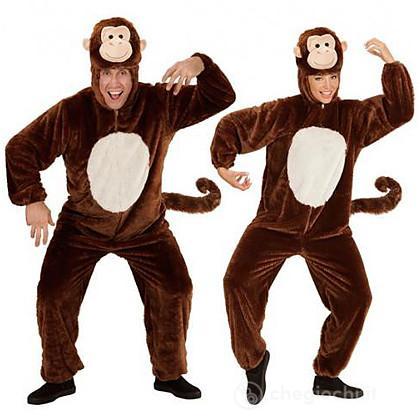 Costume Adulto scimmia peluche L - Carnevale - Widmann - Giocattoli ... 0ce5a5a480c