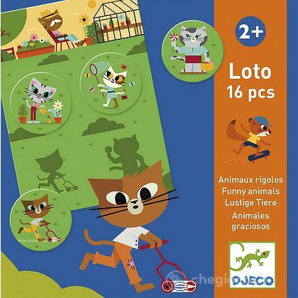 Funny animals - Animali divertenti gioco di memoria (DJ08127)
