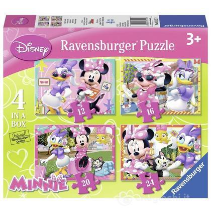 Minnie Mouse 4 puzzle in 1