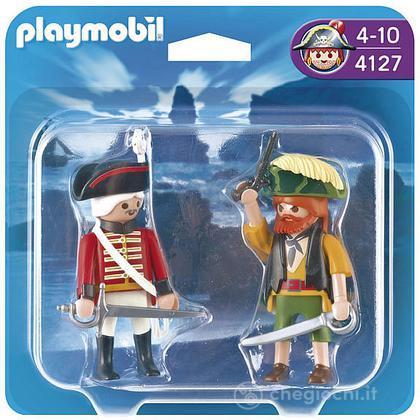 Duo pack pirata e soldato (4127)