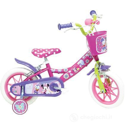 """Bicicletta Minnie 10"""" EVA con freno (25127)"""