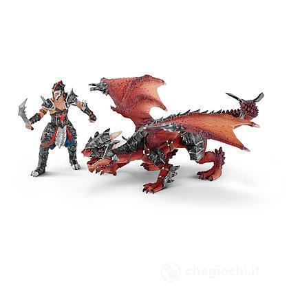 Guerriero Con Drago (70128)
