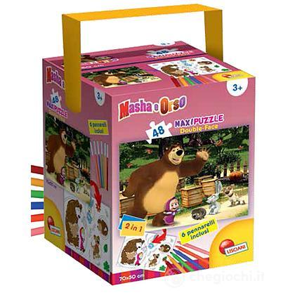 Puzzle Maxi Masha + Colori 48 pezzi (51281)
