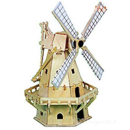 Mulino a vento I con pannello solare