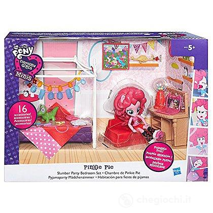 My Little Pony - Equestria Mini Girls, Cameretta di Pinkie Pie (B8824EU4)