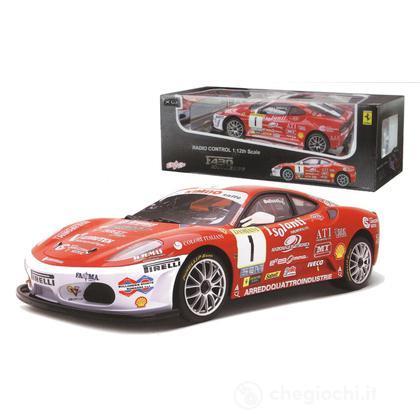 Auto Ferrari F430 Challenge 1:12 radiocomandata