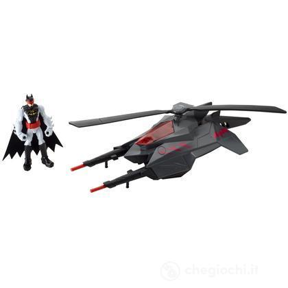 Batman  batcopter figure (Y1253)