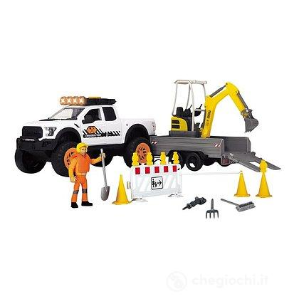 Dickie Playlife Road Construction con Ford Raptor (203838004)
