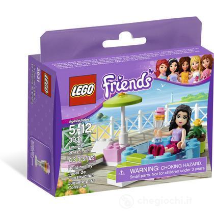 Lego friends la piscina di emma 3931 personaggi for Piscina lego friends