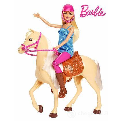 Barbie Bambola con Cavallo (FXH13)