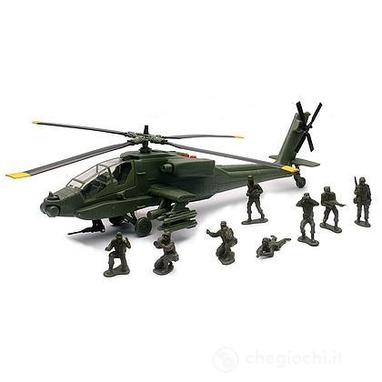 Elicottero Apache con Soldati 1:32 (2136)