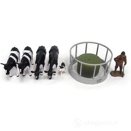 Set Mangiatoia con Personaggi e mucche (LC43137)