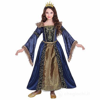 Costume Regina Medievale 8-10 anni