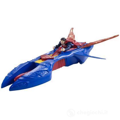 Superman jet kriptoniano – Personaggi con velivolo Superman (Y5883)