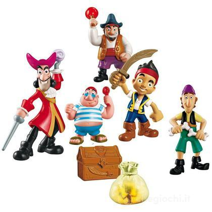 Assortimento  Personaggi Deluxe Jake il pirata (X5182)