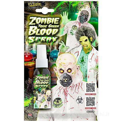 Spray Sangue Zombie Verde  48 Ml
