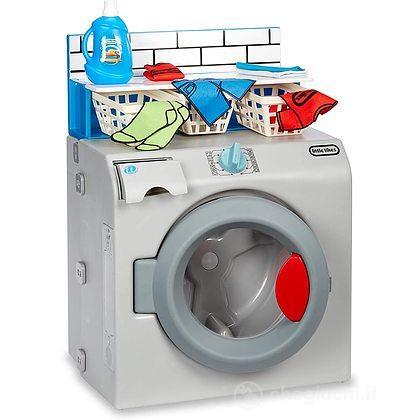 Prima lavatrice asciugatrice