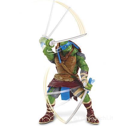Leonardo. Tartarughe Ninja Turtles Movie personaggio deluxe
