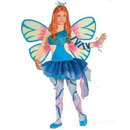Costume Winx Bloom con ali 7 - 9 anni