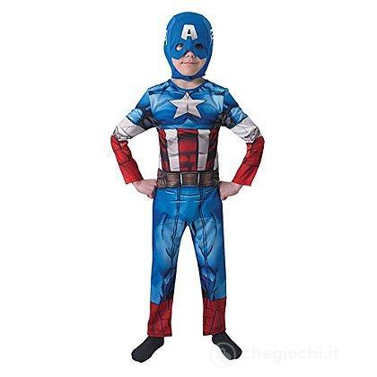 Costume Capitan America S 2-3 anni