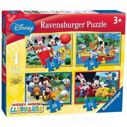 Mickey Mouse Club House 4 puzzle in 1