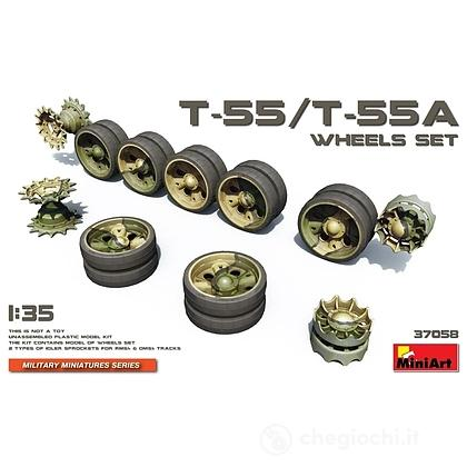 Ruote T-55/T-55A Wheels Set 1/35 (MA37058)