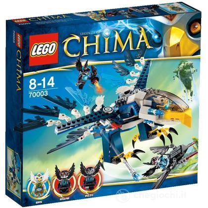 L'Intercettatore reale di Eris - Lego Legends of Chima (70003)