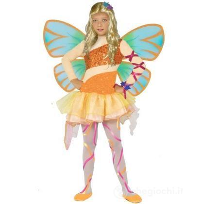 bel design forma elegante in vendita Costume Winx Stella con ali 4 - 6 anni