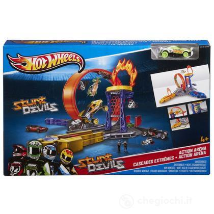 Team Hot Wheels Set Acrobazie Mozzafiato (X9630)