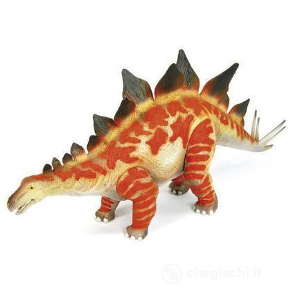 Stegosaurus arancione