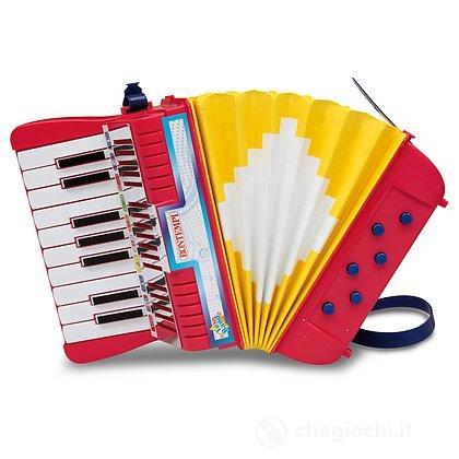 Fisarmonica 17 Tasti a 6 Bassi con tracolla (18145)