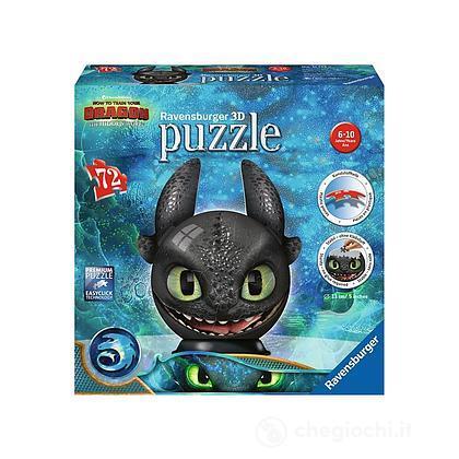 Dragon Trainer - Il mondo nascosto Puzzle 3D Puzzleball (11145)
