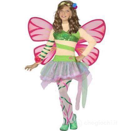 prezzo imbattibile come trovare più alla moda Costume Winx Flora con ali 7 - 9 anni