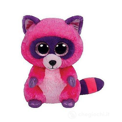 Peluche Roxie - Procione Pink/Lila 15 cm Beanie Boo (36146)
