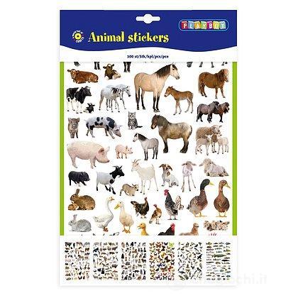 Creative Stickers Adesivi Animali 300 pezzi (2471082)