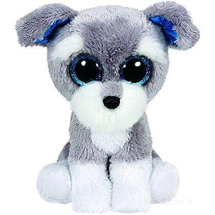 Peluche Whiskers - Cane Schnauzer Grigio 15 cm Beanie Boo (36150)