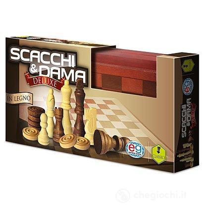 Dama e Scacchi in Legno Deluxe (98377)