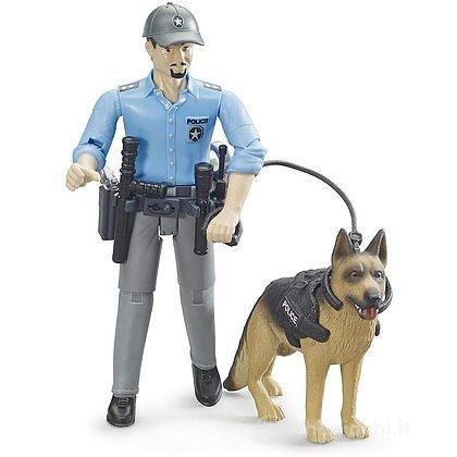 Poliziotto con cane (62150)