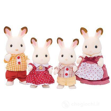 Famiglia Conigli cioccolato (4150)