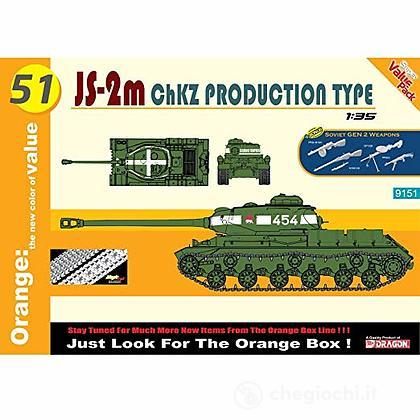 Carro Armato JS-2M ChKZ PRODUCTION TYPE 1/35 (DR9151)