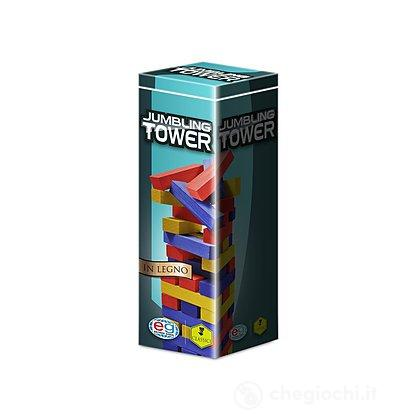 Jumbling Tower in Legno Colorato (98365)
